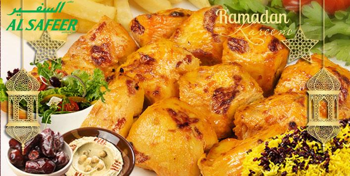 Enjoy a healthy Iftar at 10 locations!