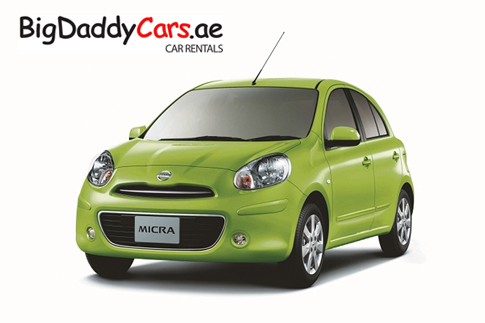 Rent a car from bigdaddycars.ae in JLT – choose from a Nissan Micra, Kia Rio or Hyundai Accent starting from AED 49