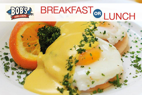 Pay AED 25 and get the best of fish and chips with a value voucher worth AED 50 to spend on breakfast and lunch menu items at Bob's Fish and Chips - Valid at 3 prime locations