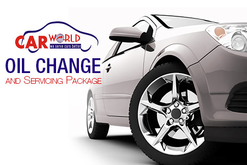 Revamp your car engines with a 4 litres Oil Change, Filter Change, Top-Ups, Health Check and Body cleaning from Car World Automobiles for AED 99. Option for 6 liters also available for AED 129