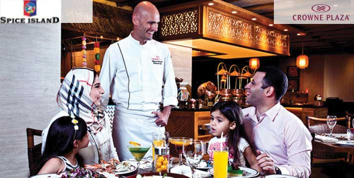 Enjoy Brunch or Buffet at Crowne Plaza Hotel