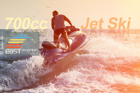 Enjoy the sheer thrill of cutting through the clear blue waters on a 60 minute ride aboard a 700 cc jet ski from East Avenue Travel & Tours for just AED 149 only! Includes pick-up and drop-off across Dubai!