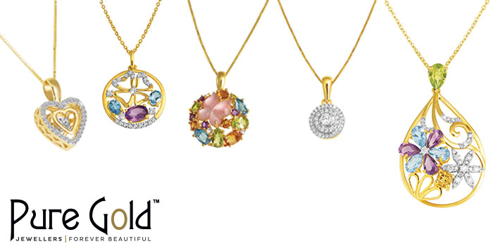 18K Gold Pendant Collection