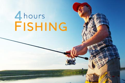 Catch your dinner with a 4-hour fishing trip aboard a brand new fishing boat from Happy Day Sea Cruising. 8 options to choose from, starting at AED 89!