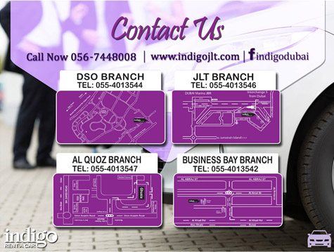 Indigo Rent A Car Al Quoz