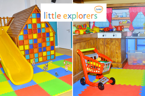 Take your children to the exciting Little Explorers Junior, whether they're 6 months to 5 years old, they can play and develop their skills in a fun and safe environment. Prices start at AED 68!