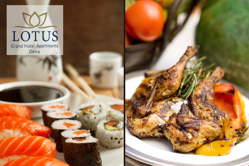 Feast on a delicious lunch buffet featuring Arabic, Continental, Italian, Indian and Chinese cuisines along with pool access for AED 39 at the 4 star Lotus Grand Hotel Apartments in Deira
