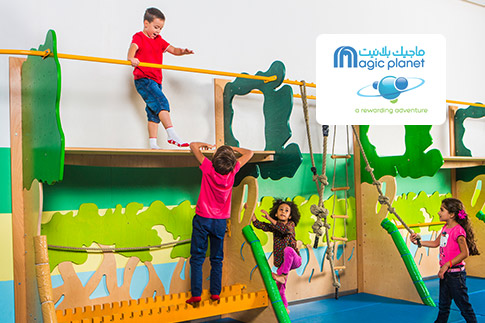 Give your children the opportunity to enjoy a one hour access to the soft play area at Magic Planet for AED 18 - Valid at 2 locations Mall of the Emirates & City Centre Mirdif!