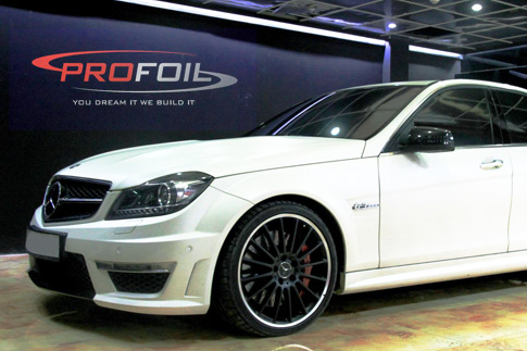 Give your car a whole new look this season with window tinting at Profoil for AED 299