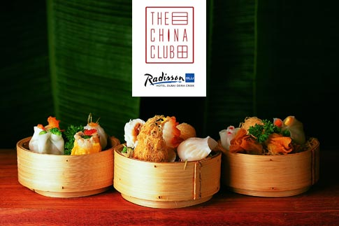 Experience all the goodness of authentic Chinese fare at the Yum Cha nights every night at China Club, Radisson Blu Hotel Deira Creek for just AED 89 only!