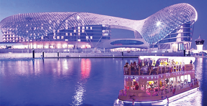 Dinner Cruise along Yas Marina Abu Dhabi
