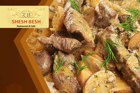 Plan your next business lunch at Shesh Bhesh and enjoy a set menu complete with a main course,salad, dessert and soft drink for just AED 30 only. Shisha option available as well.
