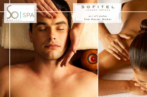 Indulge in relaxation at the So Spa at Sofitel Dubai The Palm with all day spa facility access, and an additional option of a 50-minute Polynesian massage, starting from AED 139 per person