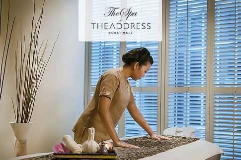 Soothe your senses with a 60 minutes full body massage or facial at Spa The Address Dubai Mall including access to spa facilities for AED 199 only - Options with pool day access pass available for AED 329