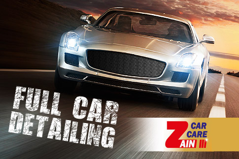 Give your car a whole new look with 6 step paint polishing, deep internal cleaning with stain removal, engine bay cleaning, wheel & rim polishing & A/C filter sanitisation at Zain Car Care, for AED 279 - The ultimate detailing package!