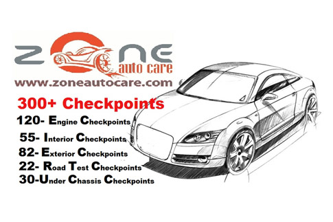 Get a comprehensive 300 plus point car check-up for Audi, Porsche and Volkswagen at Zone Auto Care for AED 49!