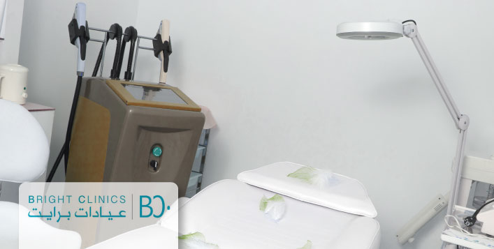 Hair-free skin with Bright Clinics -for women
