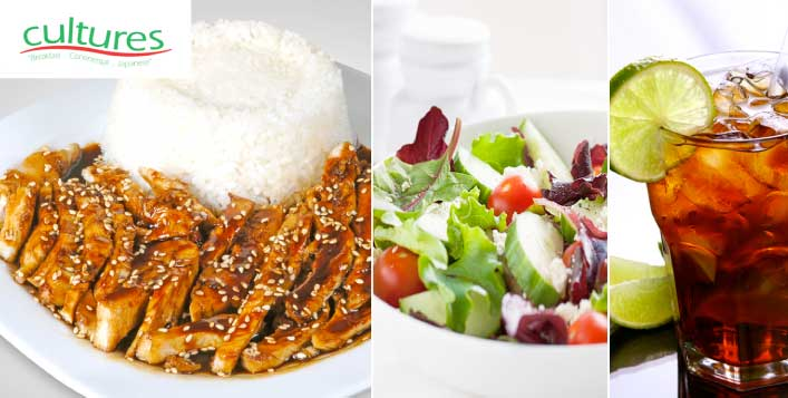 Japanese & Continental cuisine; 2 Branches