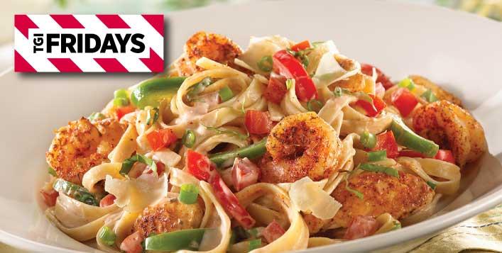 Cajun Shrimp and Chicken pasta @TGI Fridays