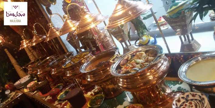 Daily dinner buffet - Saudi Cuisine