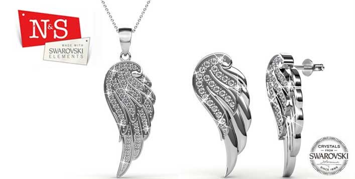 Wing Jewellery Set from N & S Boutique