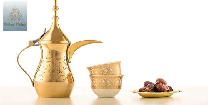 Arabic Coffee plus Sweet Dates