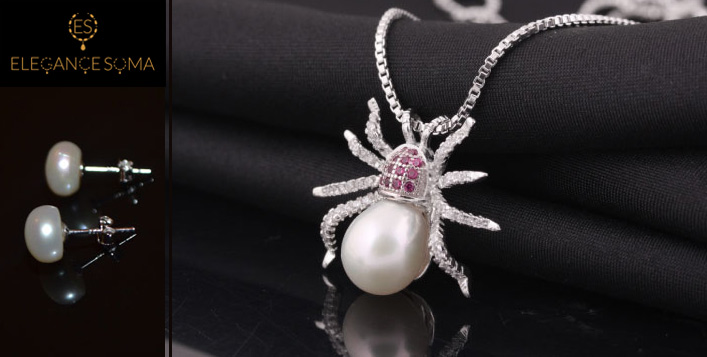 The Spider's Necklace, from Elegance Soma