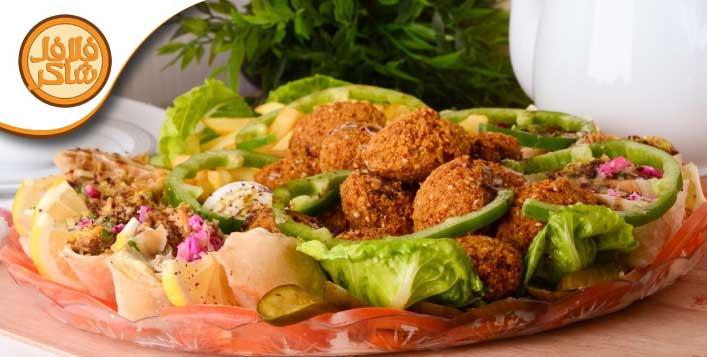 Deliciously prepared Falafel Platters
