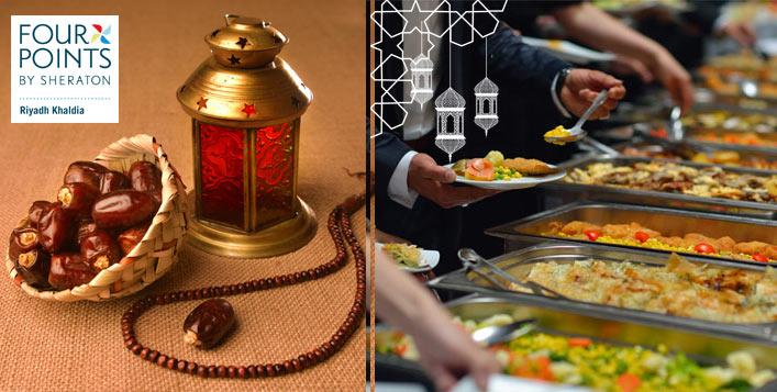 Lavish Ramadan International Buffet