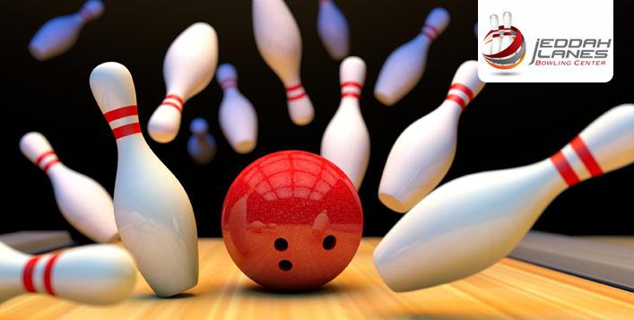 3 bowling games at Jeddah Lanes
