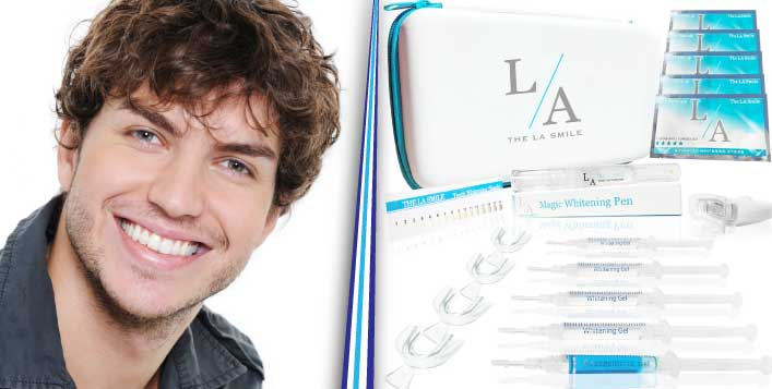 Silver, Gold or Platinum LA Smile Kits