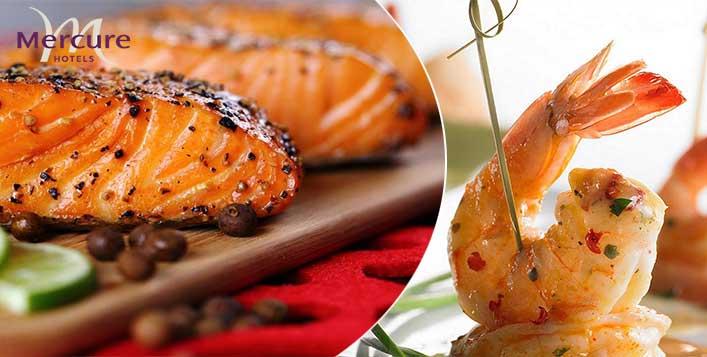 Lavish Seafood Open Buffet On Saturday