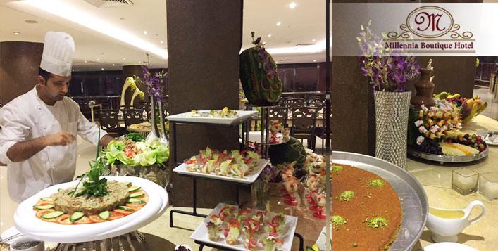 Millennia Boutique Hotel Suhour