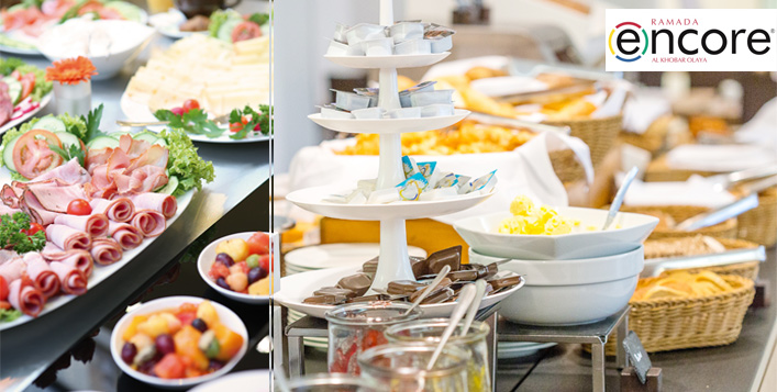 Daily Open Breakfast Buffet