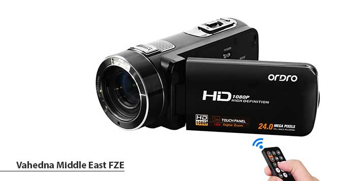 Ordro HDV-Z8 Plus Handycam from Vahedna