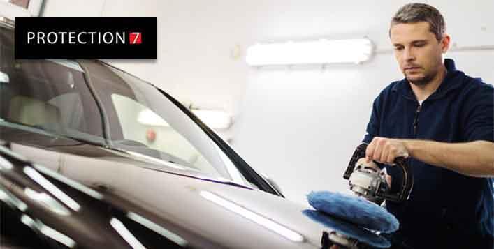 Exterior car polishing