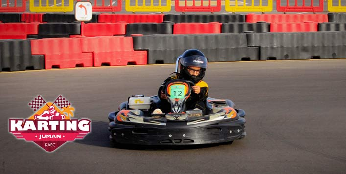 Karting Round in a 700m Long Track