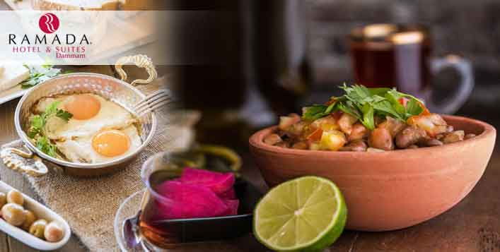 Sumptuous Lunch Egyptian Buffet Every Friday
