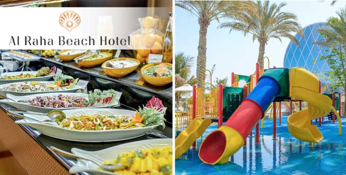 Friday Family Brunch at Al Raha Beach Hotel