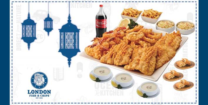 London Fish & Chips Iftar Family Meal