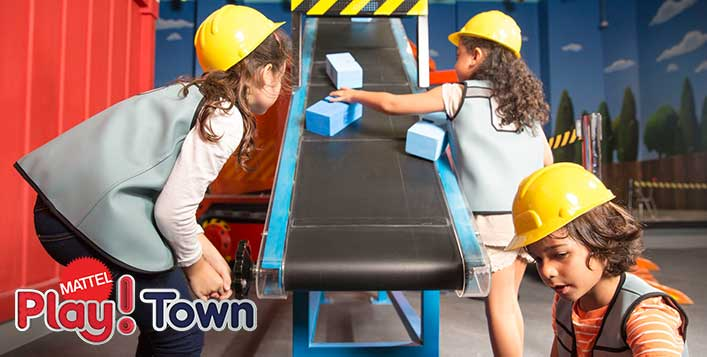 1 Day Admission to Mattel Play! Town
