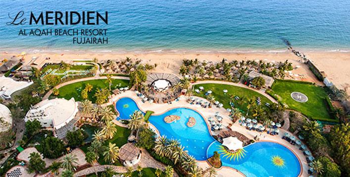 Le Meridien Al Aqah Beach Resort Weekend stay