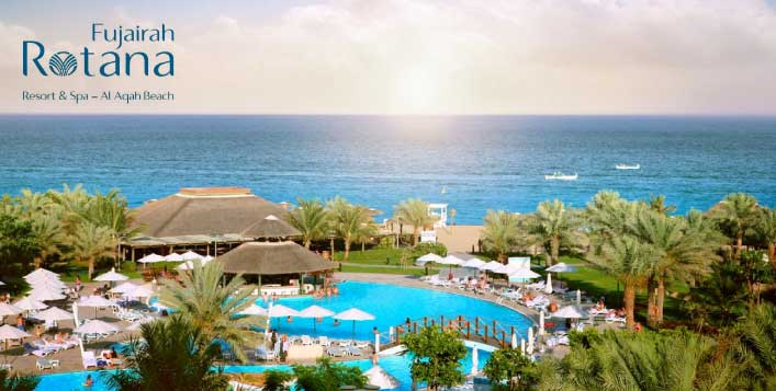 5* Fujairah Rotana Resort All Inclusive Stay