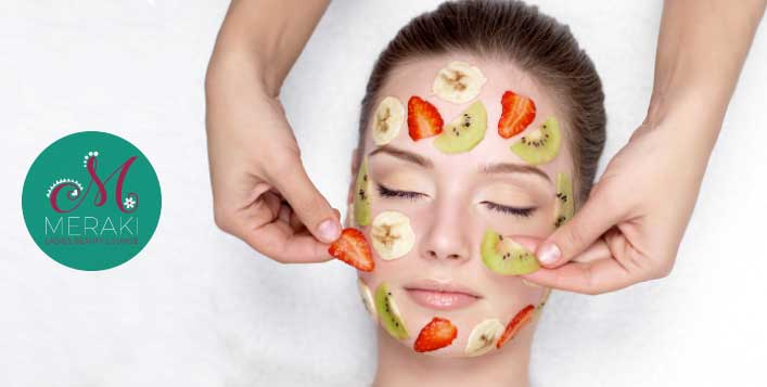 Facial removes impurities&leaves skin healthy