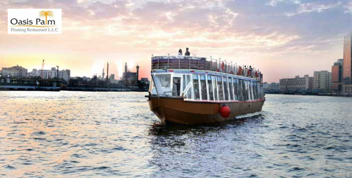 Boats departs every hour; Sightseeing trip