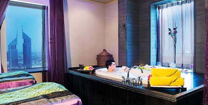 Relaxation at Emirates Grand Hotel