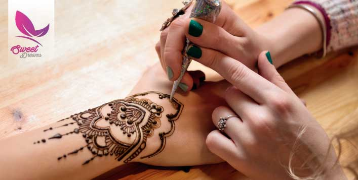 Henna Designs at Sweet Dreams Beauty Saloon