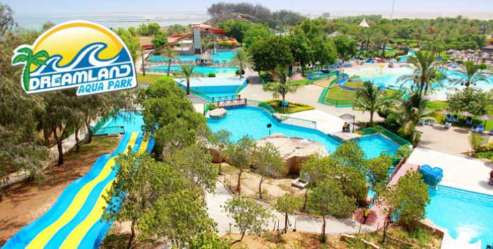 5* RAK Stay + Dreamland Aqua Park Tickets