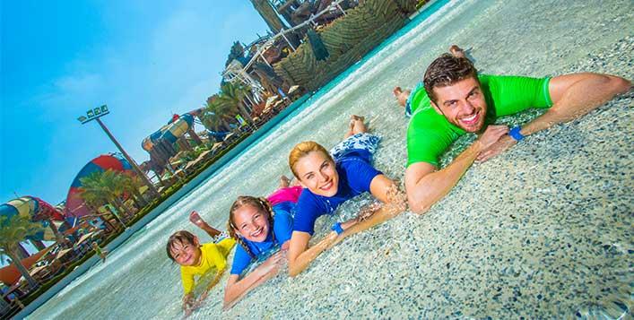 Bronze admission to UAE's mega waterpark