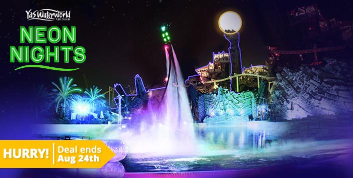 Yas Waterworld Abu Dhabi Ticket + Meal Combo